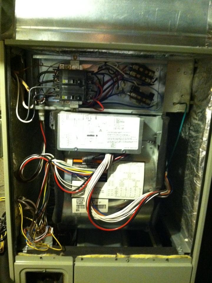 Spokane Valley, WA - Maintenance on electric Trane furnace