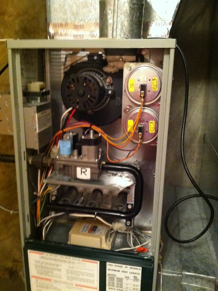 Liberty Lake, WA - Performed heating maintenance on a Trane unit