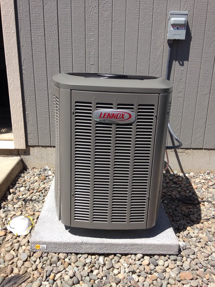 Airway Heights, WA - Installing a Lennox Air Conditioning unit