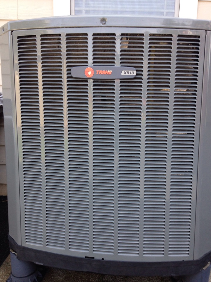 Sagle, ID - Preventive maintenance on a Trane XR13 Heat Pump, cooling side in Sagle, ID