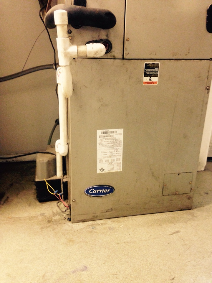 Saint Maries, ID - Repairing drain line on carrier furnace