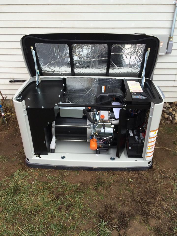 Deer Park, WA - Generator install