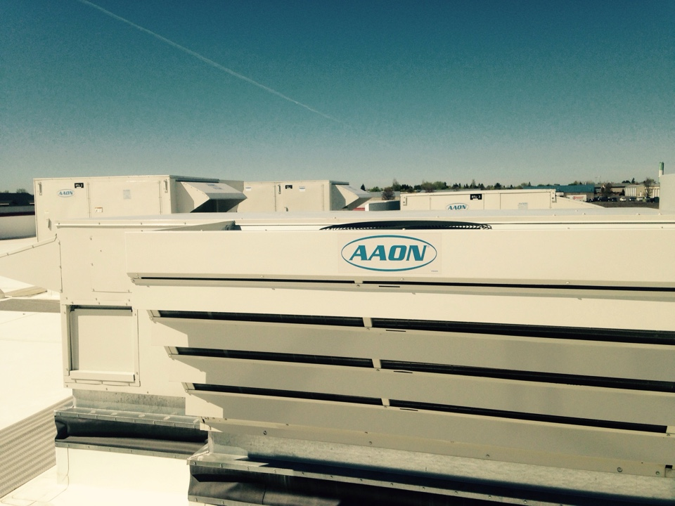 Airway Heights, WA - Performing cooling maintence on Aaon units