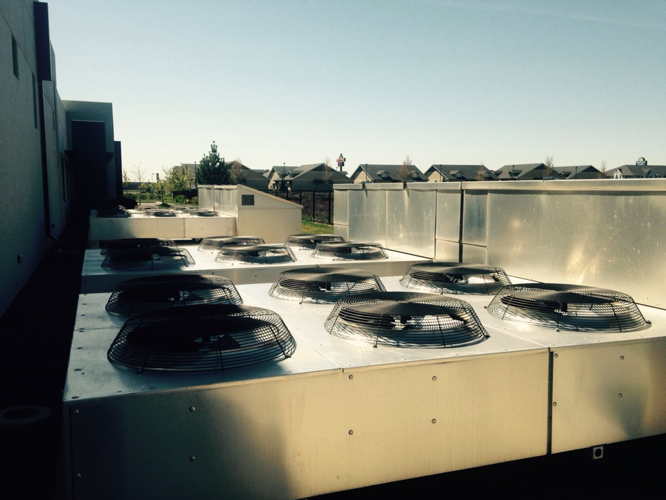 Airway Heights, WA - Maintenance on dry coolers