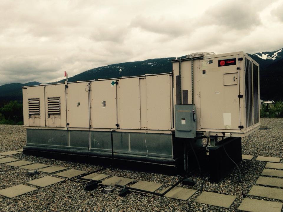 Kellogg, ID - Performing maintenance on Trane equipment