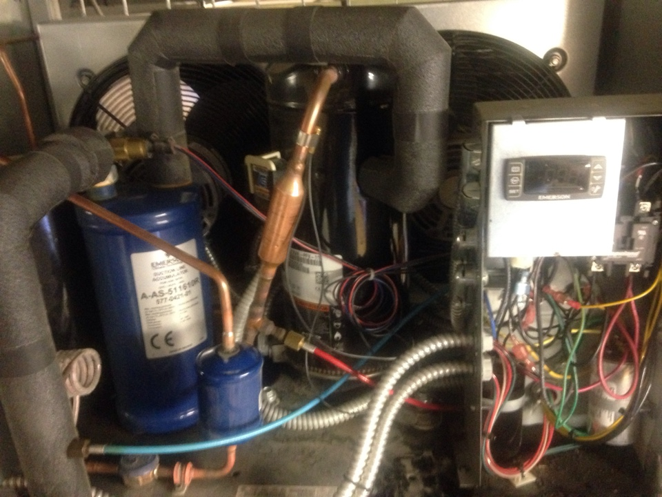 Hayden, ID - replacing the compressor in a chill star unit