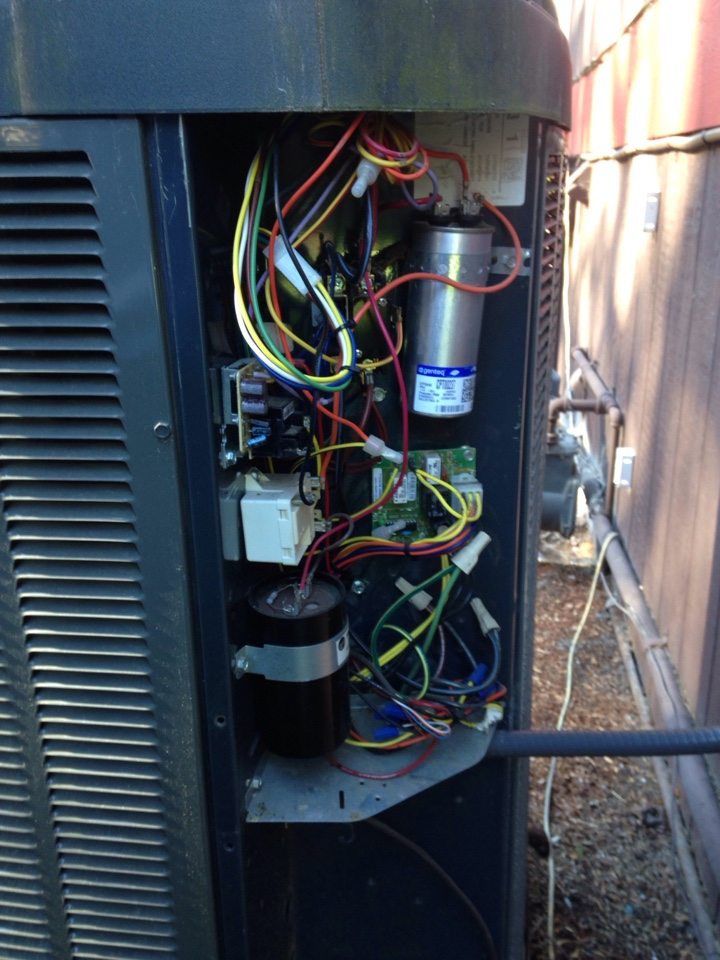 Hayden, ID - Preventive maintenance on a Trane heat pump(cooling).