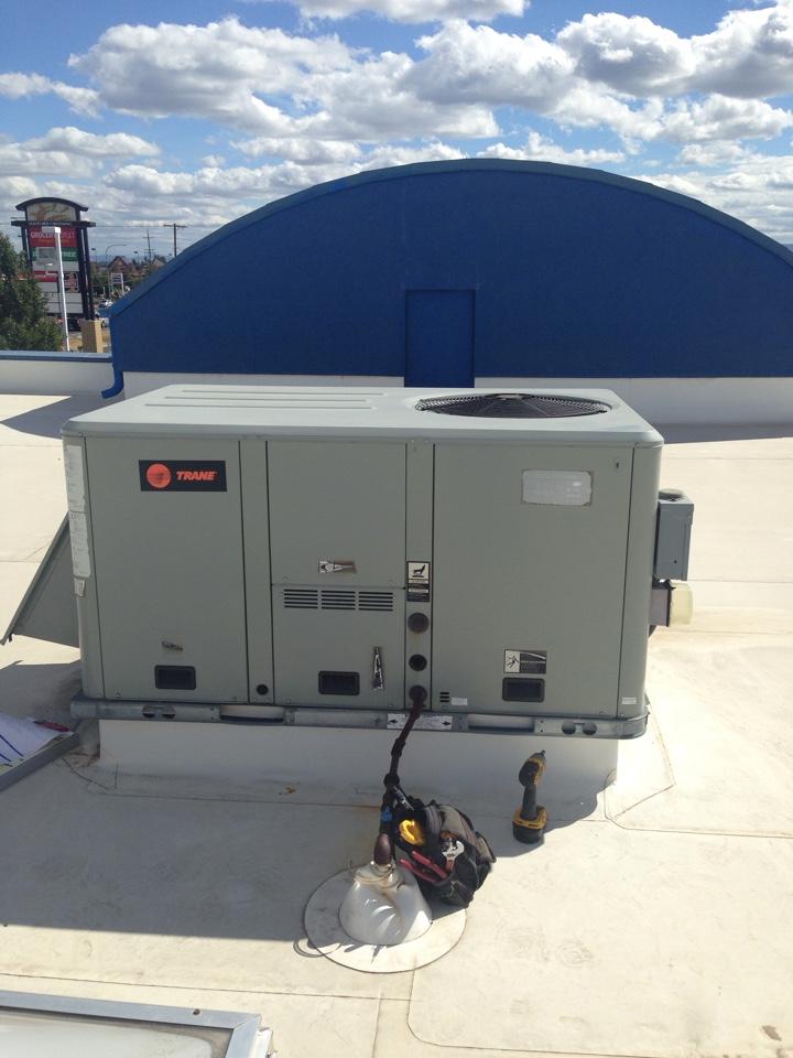 Airway Heights, WA - Trane rooftop unit maintenance