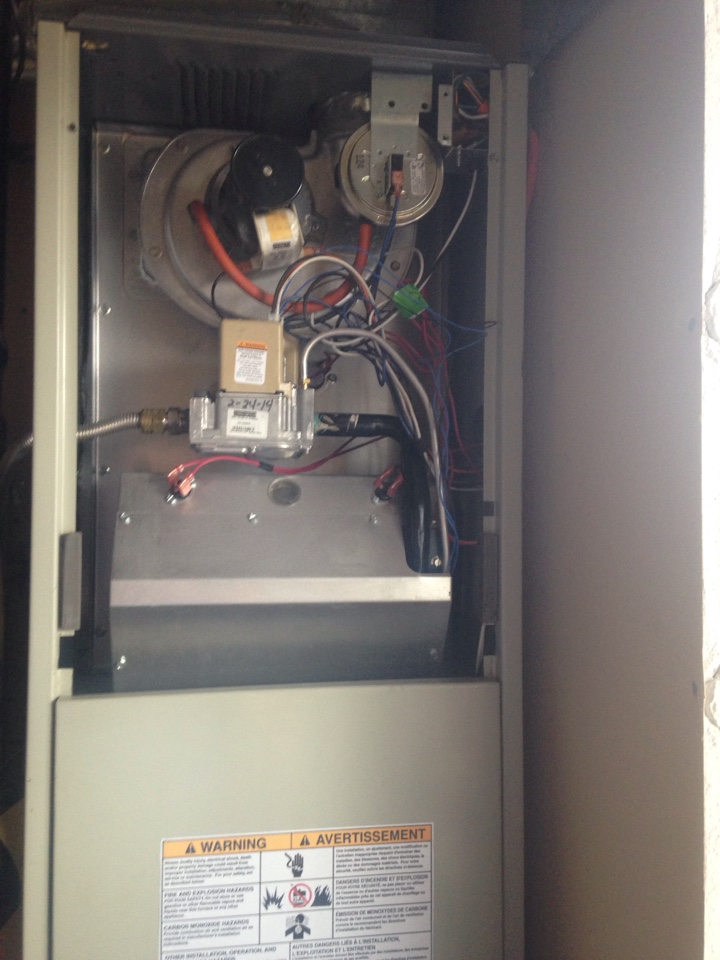 Post Falls, ID - Preventive maintenance on a Tempstar gas furnace.