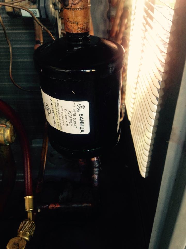 Coeur D Alene, ID - Repairing refrigerant leak on a rheem heatpump