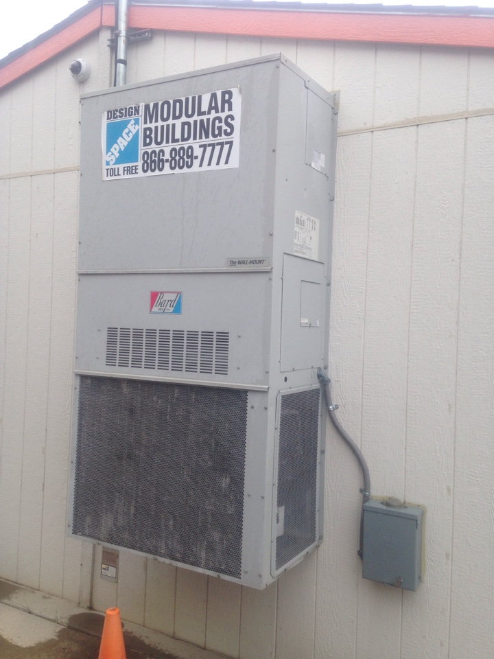 Rathdrum, ID - Repairing Bard unit new contactor and refrigerant leak repair