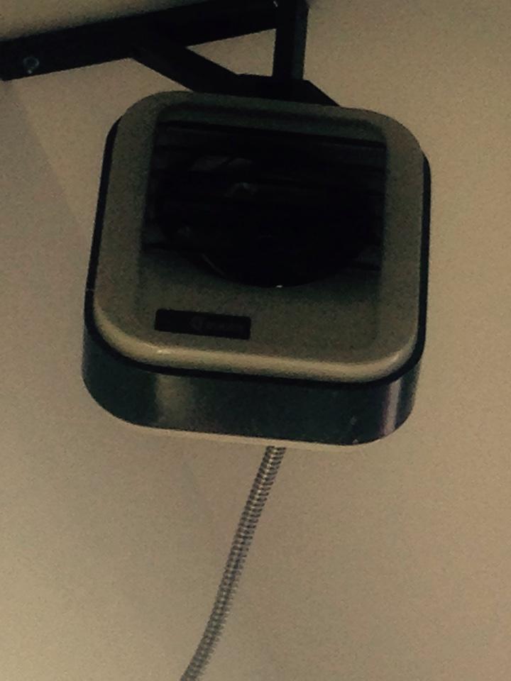 Coeur d'Alene, ID - Checking Q Mark unit heater. Found bad blower motor