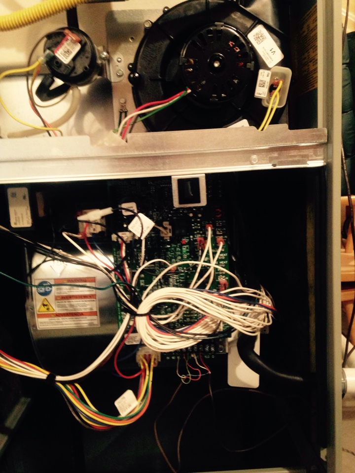 Coeur d'Alene, ID - Replaced control board and inducer motor on Trane furnace.