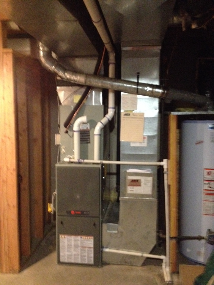 Liberty Lake, WA - Installed a new AC and furnace in Liberty Lake