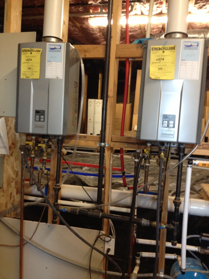 Chattaroy, WA - flushing tankless hot water systems.