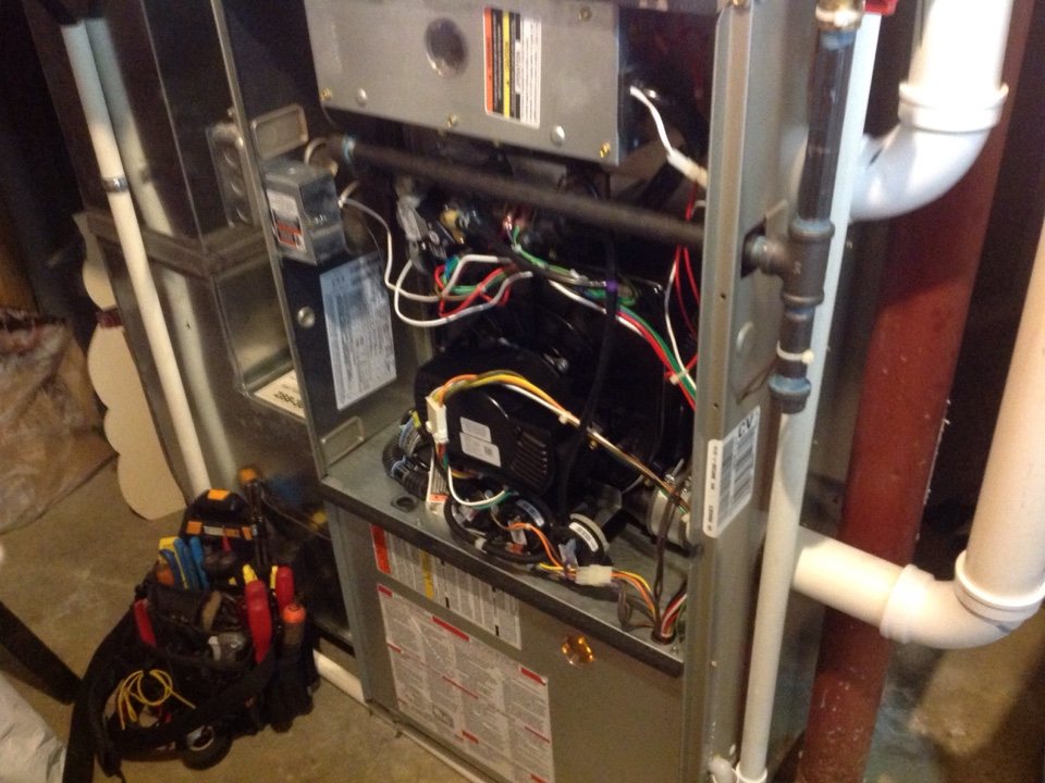 Altoona, IA - Replaced draft inducer assembly