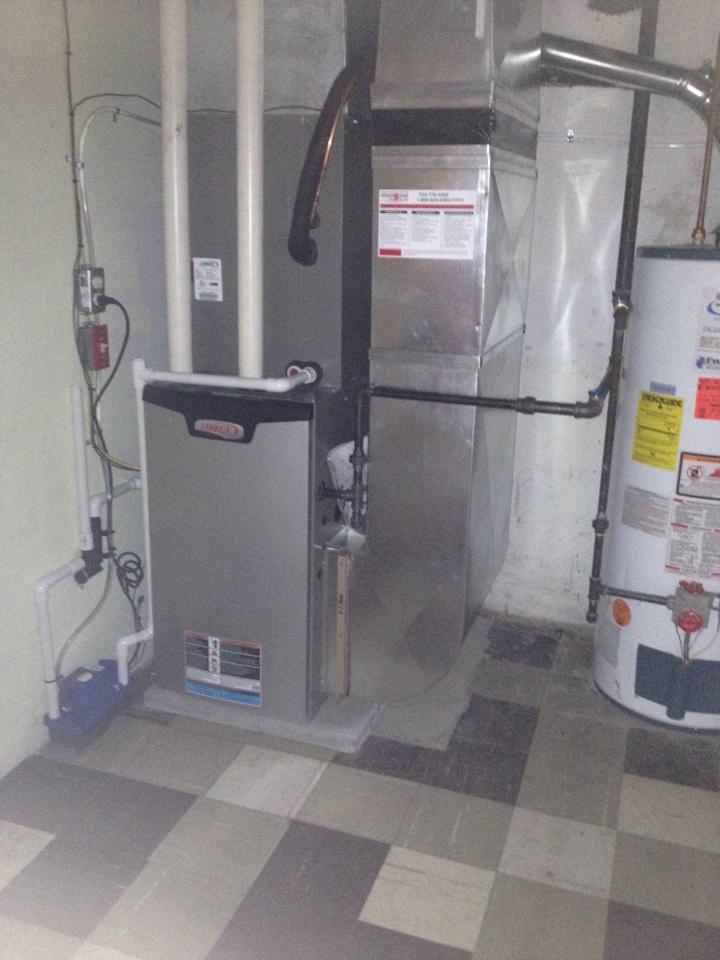 Coraopolis, PA - Lennox furnace n air cond