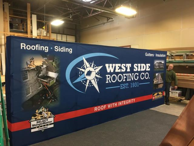 Cleveland, OH - We are getting ready for the Cleveland Home & Garden show which starts this weekend. If you need a new roof, siding, gutters or any exterior work, stop by!