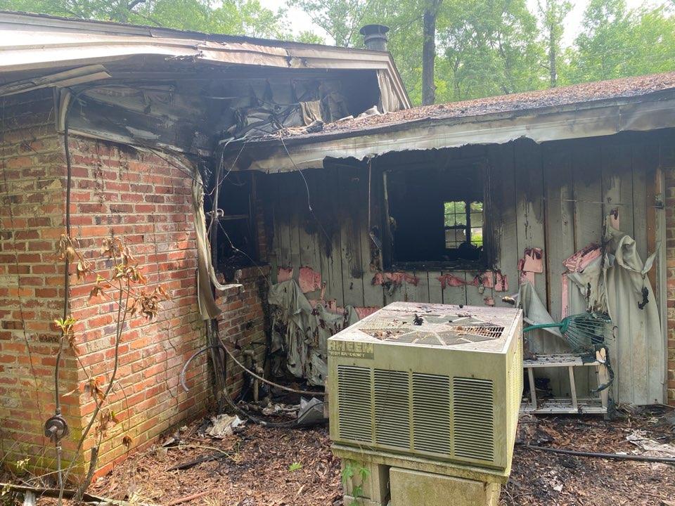 Wetumpka, AL - Fire loss in wetumpka today