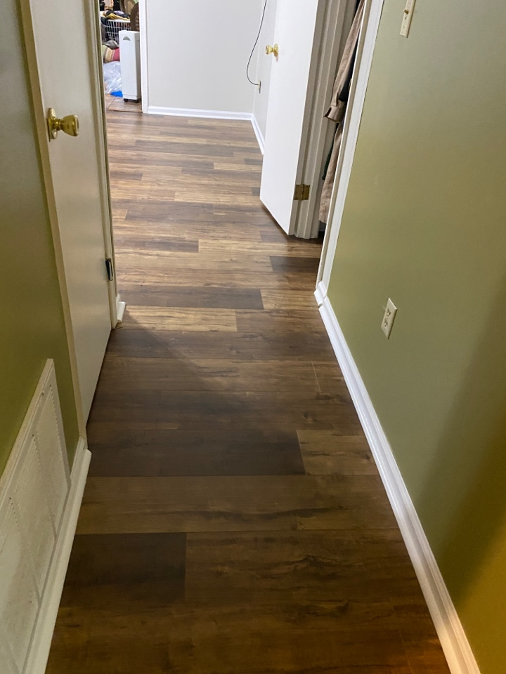 Montgomery, AL - Protek Restoration has completed the floors in this beautiful home in Montgomery.