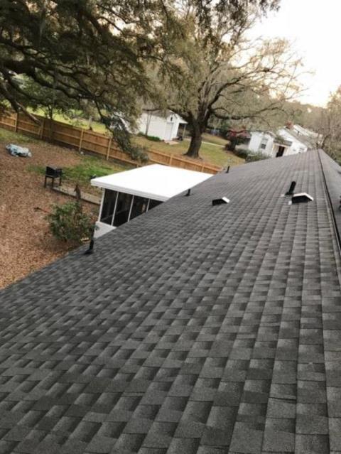 Richmond Hill, GA - New roof installed - Richmond Hill - GAF Architectural shingles