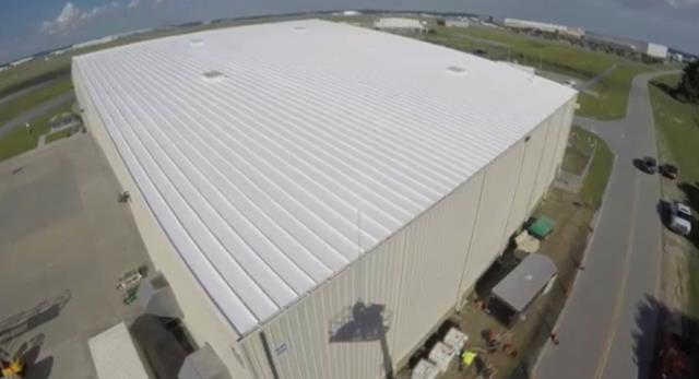 Savannah, GA - Commercial Roof Coating - Savannah
