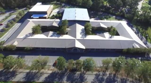 Savannah, GA - New roof - Coastal Middle School - Savannah Standing seam metal roofing