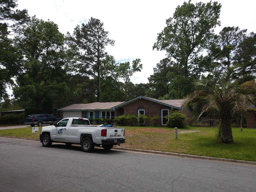 Savannah, GA - New residential roof- Architectural shingle.