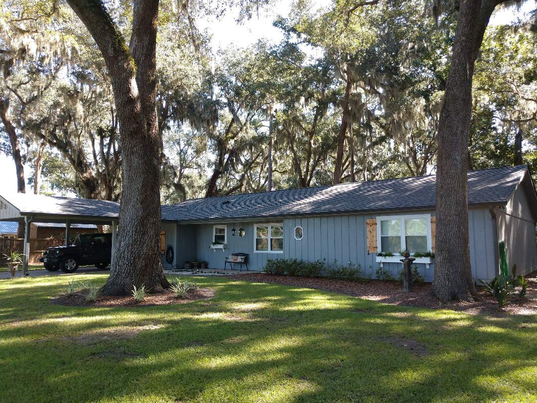 Richmond Hill, GA - New (Pewter Gray) GAF Timberline HD Architectual Roof.