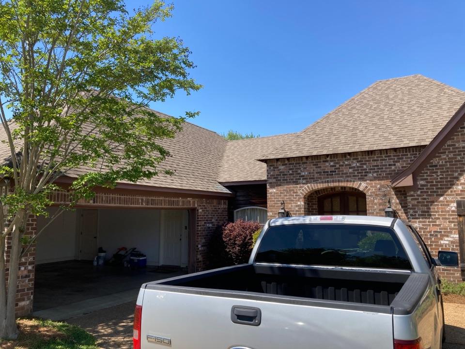 Brandon, MS - Roof inspection, leaks. Hail damage