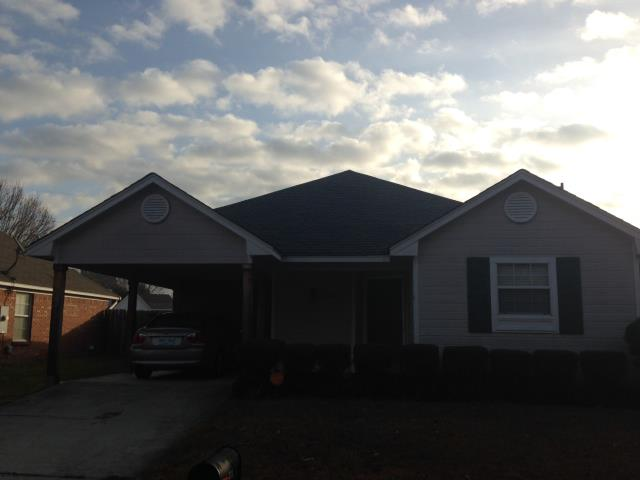 Florence, MS - Just replaced old roof with a new GAF  with a 50 year warranty.