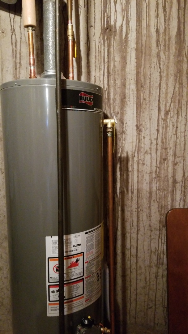 Madison, WI - Replaced water heater.