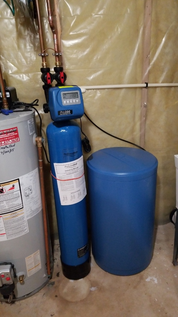 Madison, WI - Replaced water softener.