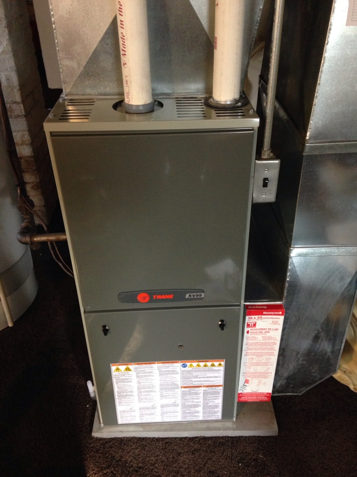 Real time service area for first call heating cooling for Variable speed motor furnace