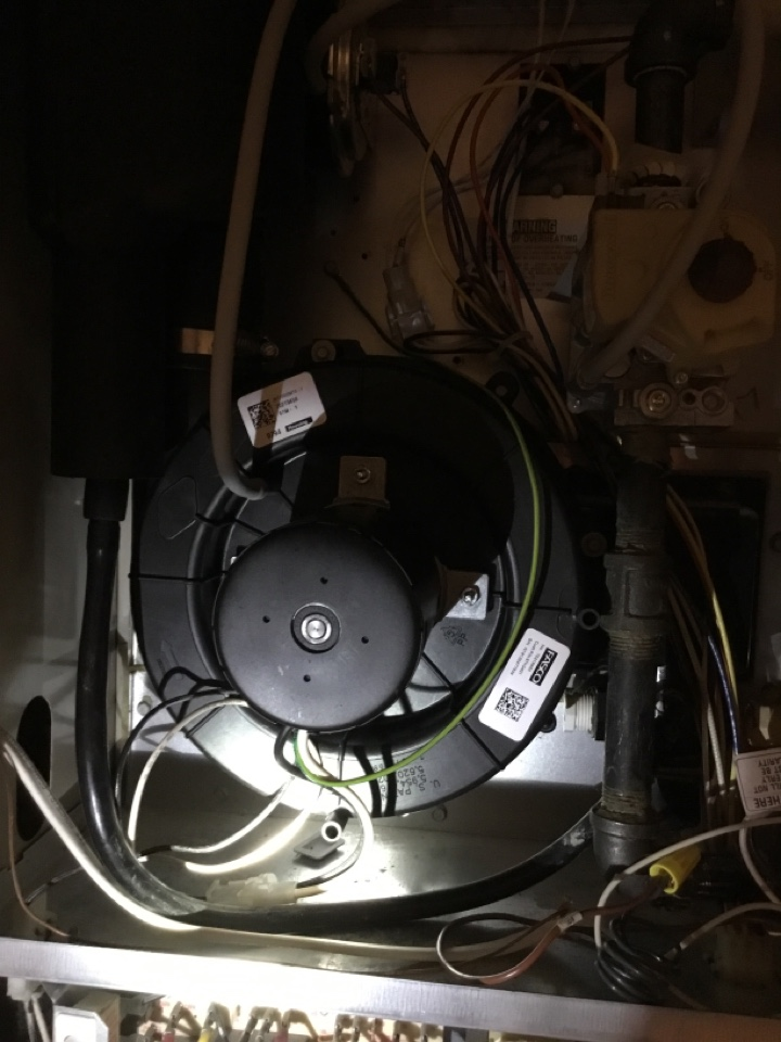 Caledonia, WI - Lennox furnace tune up and inducer motor replacement