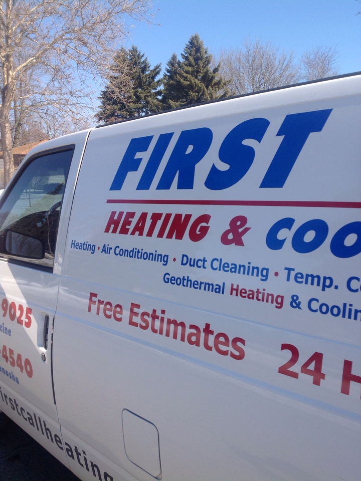 Salem, WI - Did complete central air tune up and cleaning on Trane central air conditioning system. Replaced media air filter. Cooling system working great.