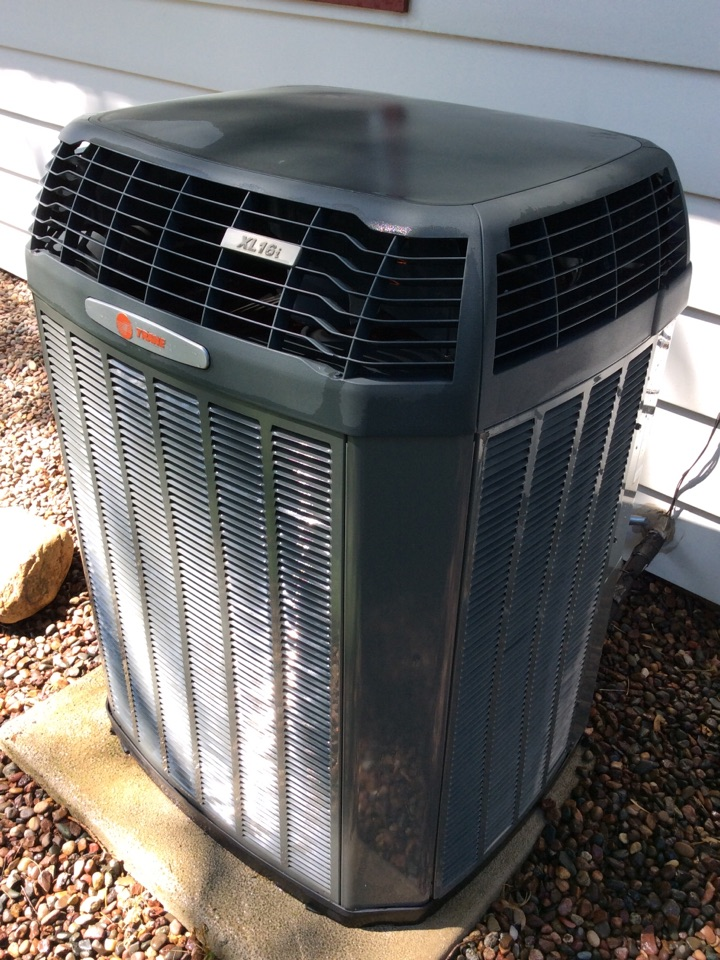 Greendale, WI - Ac tune up on 7 year old trance xl 16i cooling system.  Annual check ups satisfy manufacturer warranty requirements.