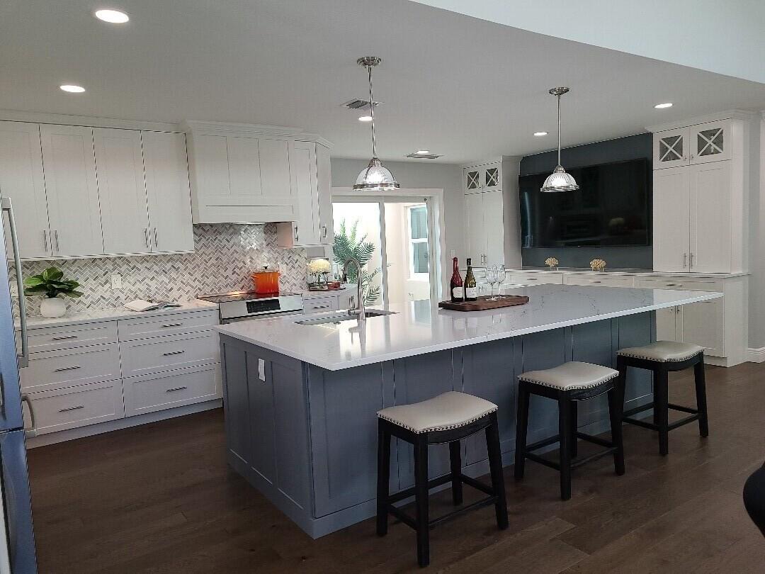 Jupiter, FL - Taking photos of this amazing remodeled kitchen in Jupiter, Florida