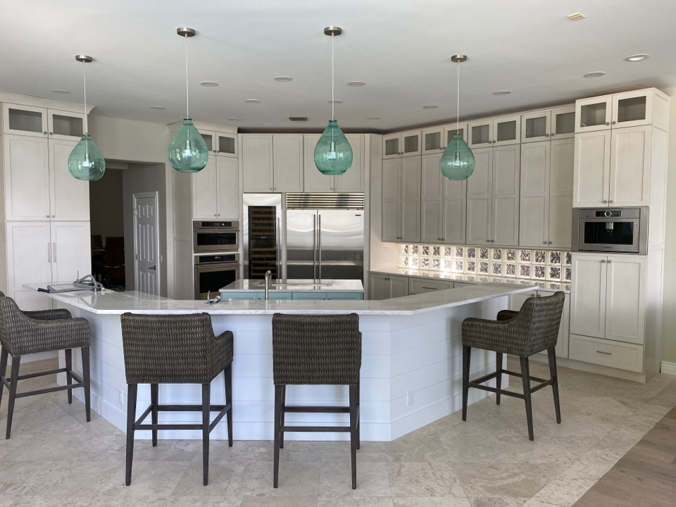 Jensen Beach, FL - Kitchen remodel is just about complete.