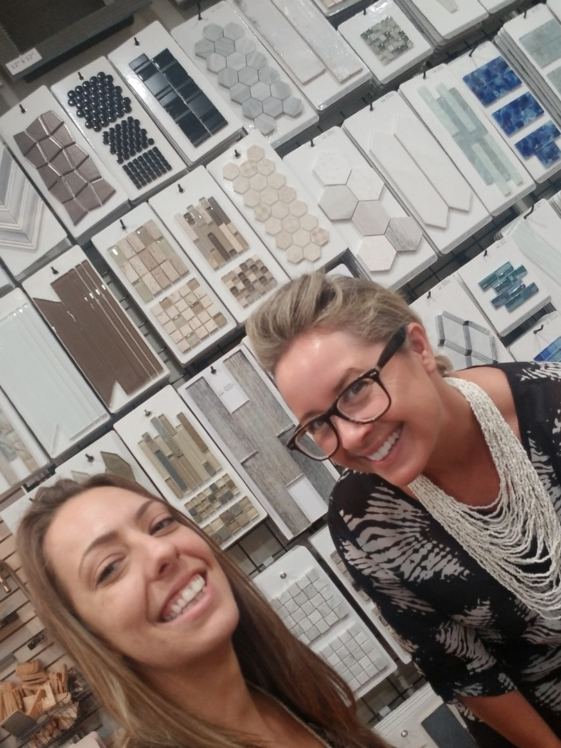 Stuart, FL - Great meeting with the best design team in the bath and kitchen remodeling industry! Come see us in our Stuart showroom!