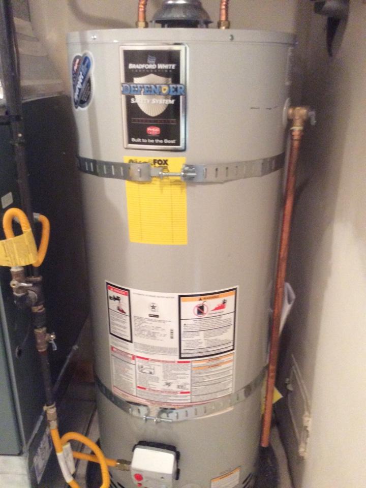Burien, WA - Repairing a water heater