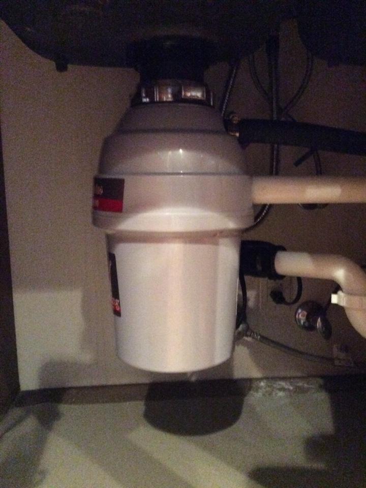 Issaquah, WA - Installing garbage disposal