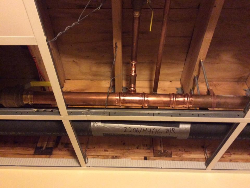 Issaquah, WA - Repairing a 2 inch water main line