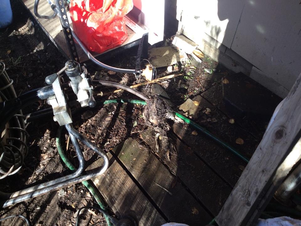 Auburn, WA - Establishing flow at the main sewer line