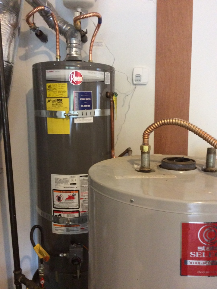Issaquah, WA - Replacing a water heater