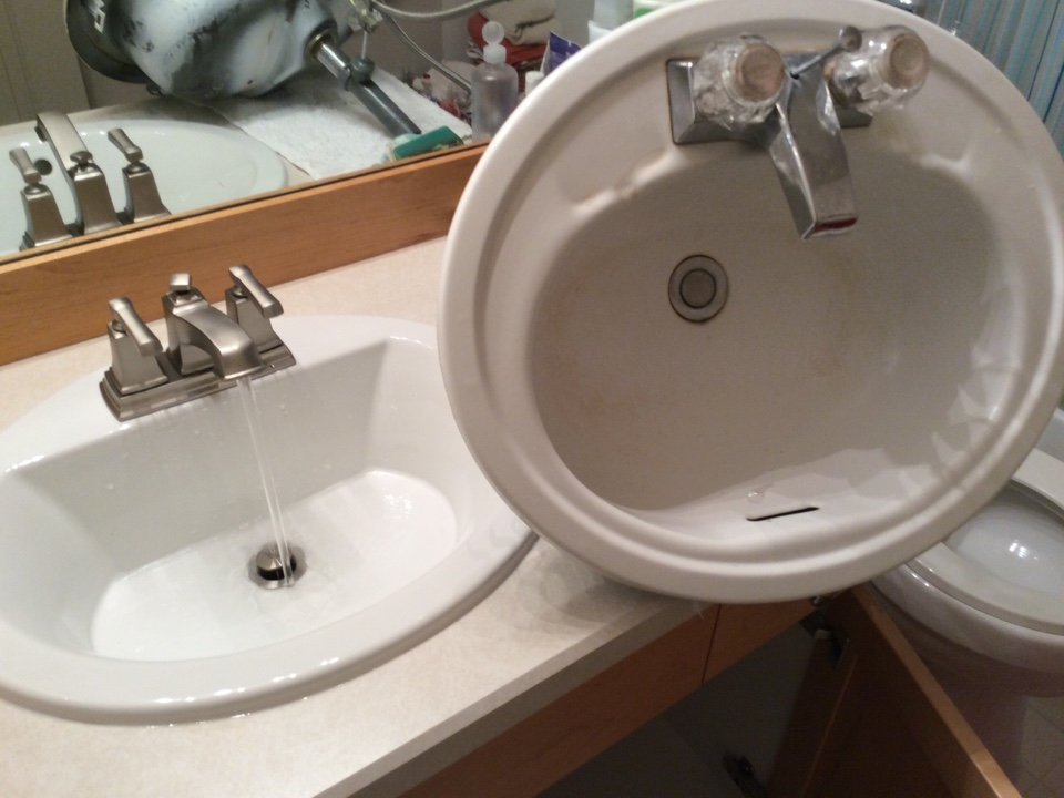 Issaquah, WA - Replacing a sink and faucet