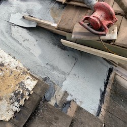 We repared a leaking tile roof on a home in Lake Worth FL 33460.