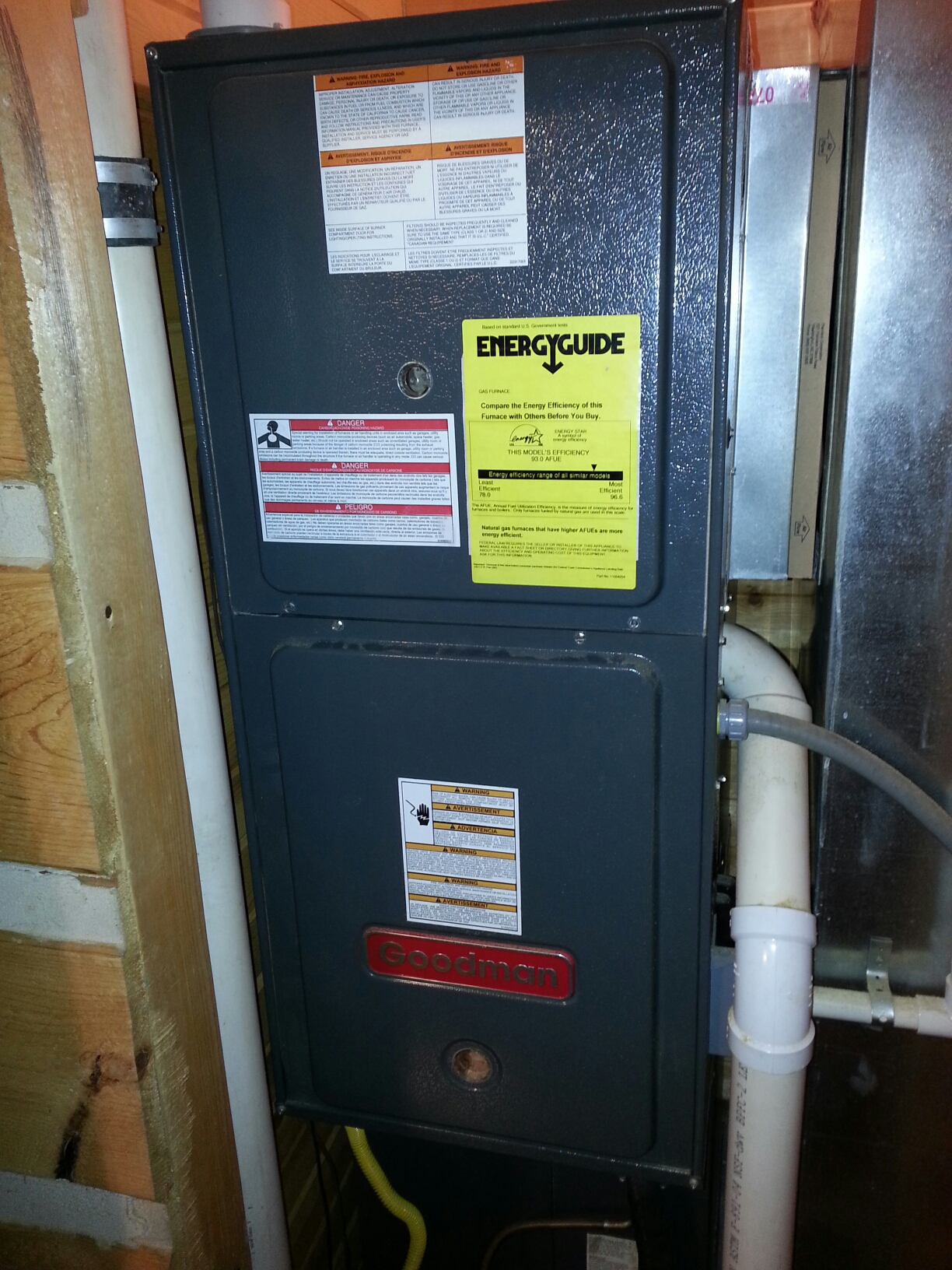 Culver, IN - Goodman furnace repair