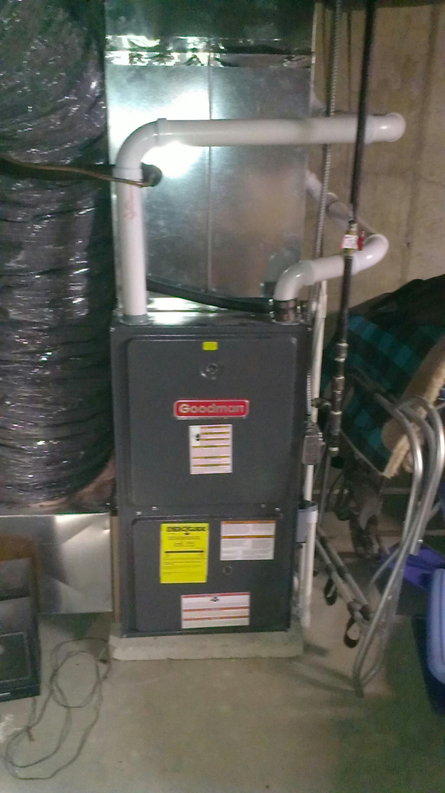 Walkerton, IN - Warranty repair on Goodman furnace