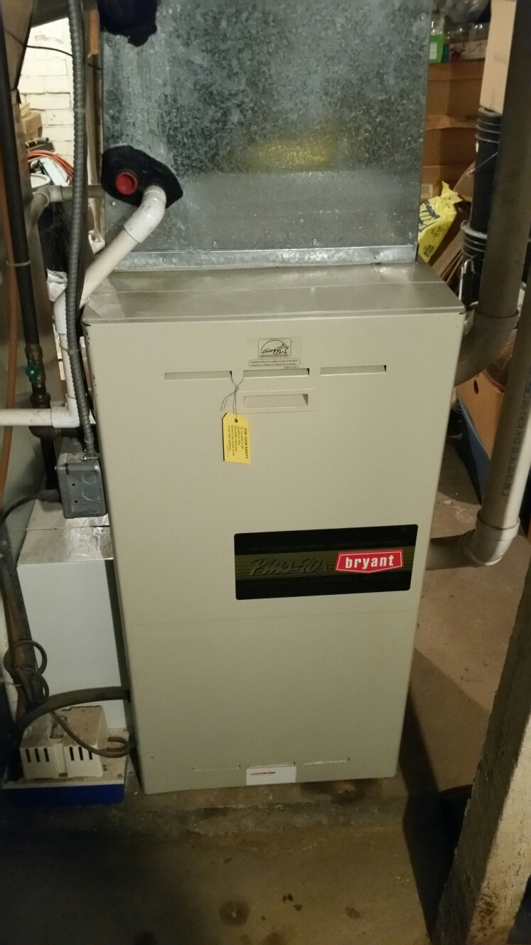 Walkerton, IN - Replace inducer on Bryant furnace